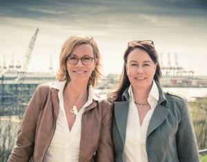Initiatorinnen Claudia Seehusen und Anja Engelke