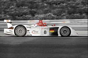 Audi Stadtpark Revival : Audi R8 Le Mans