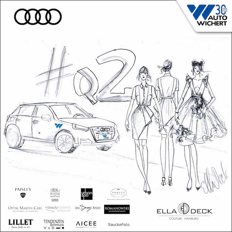 Audi Q2 meets Fashion : Auto Wichert