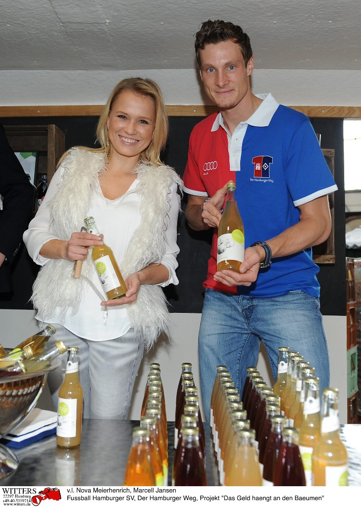 Nova Meierhenrich und Marcell Jansen