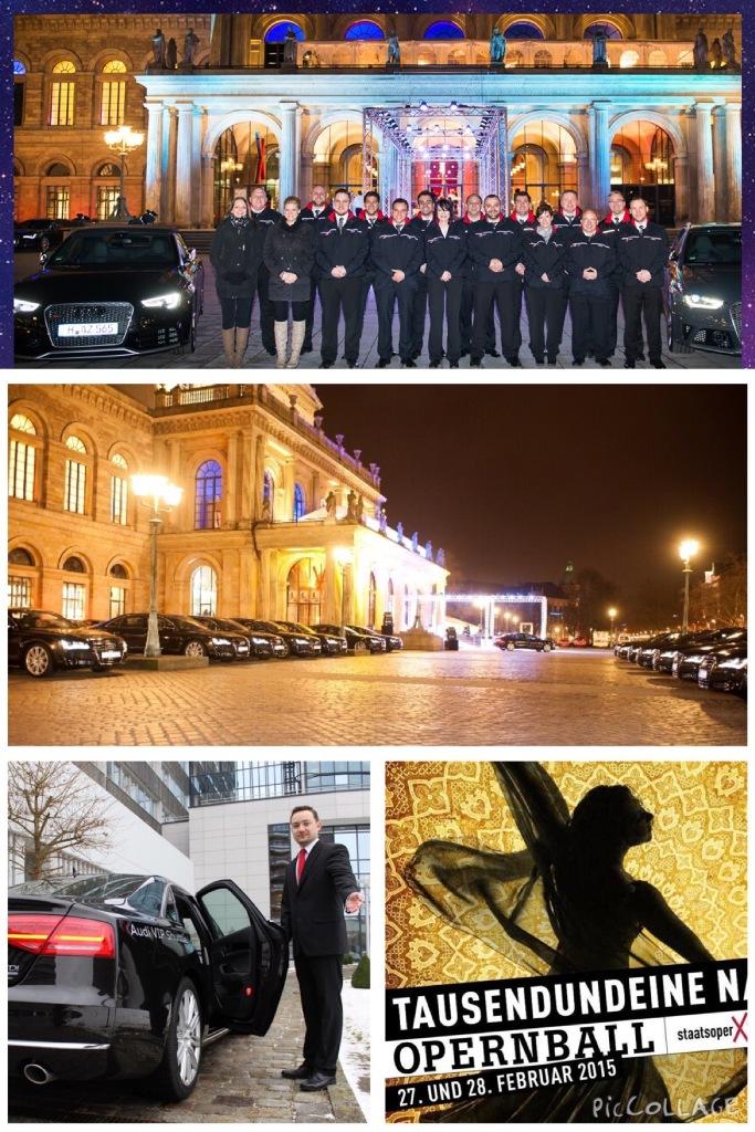 Opernball Hannover 2015 Tausend und eine Nacht Audi Shuttle (1)