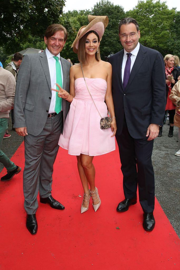 Stargast Verona Pooth mit Jan Laubrunn und Gregor Baum