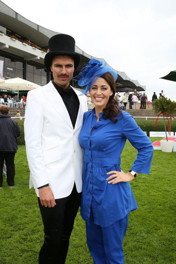 André Borchers mit Annika de Buhr
