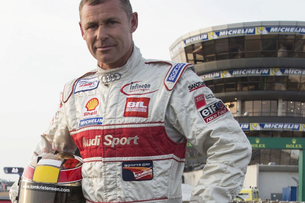 Tom Kristensen Audi Sport Legende
