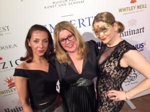 Claudia Schulz mit Sandra Quadflieg und Sonja Steinbach