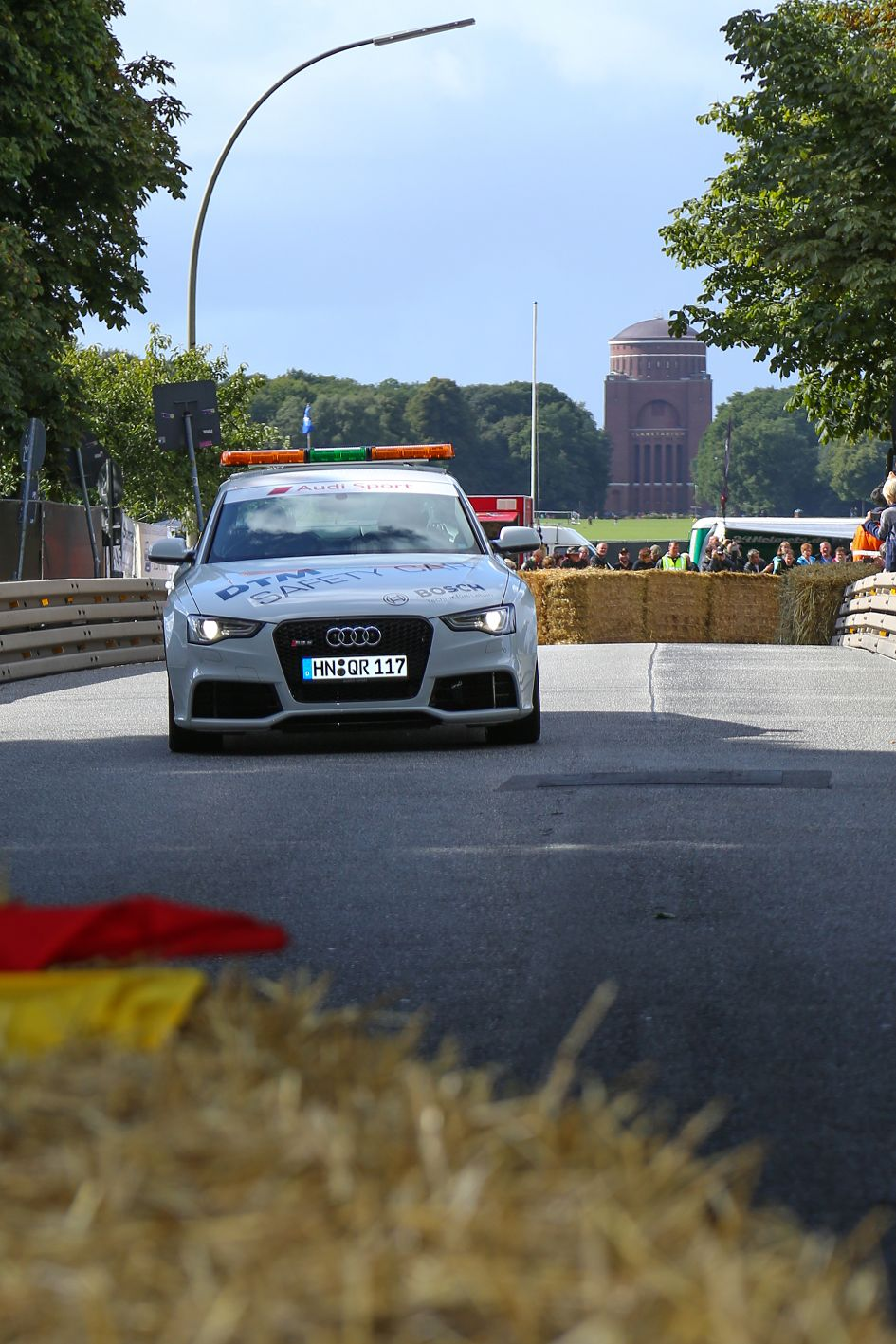 Audi Safety Car beim Stadtpark Revival
