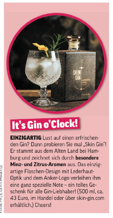 07.06.2017 OK Magazin Skin Gin