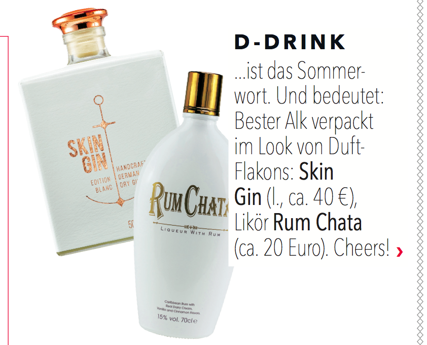 COSMOPOLITAN AUGUST Skin Gin