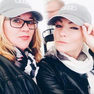 Claudia Schulz und Dajana Eder für Audi