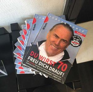 "Jürgen Hunke, ""Du wirst 70 – Freu Dich drauf"""