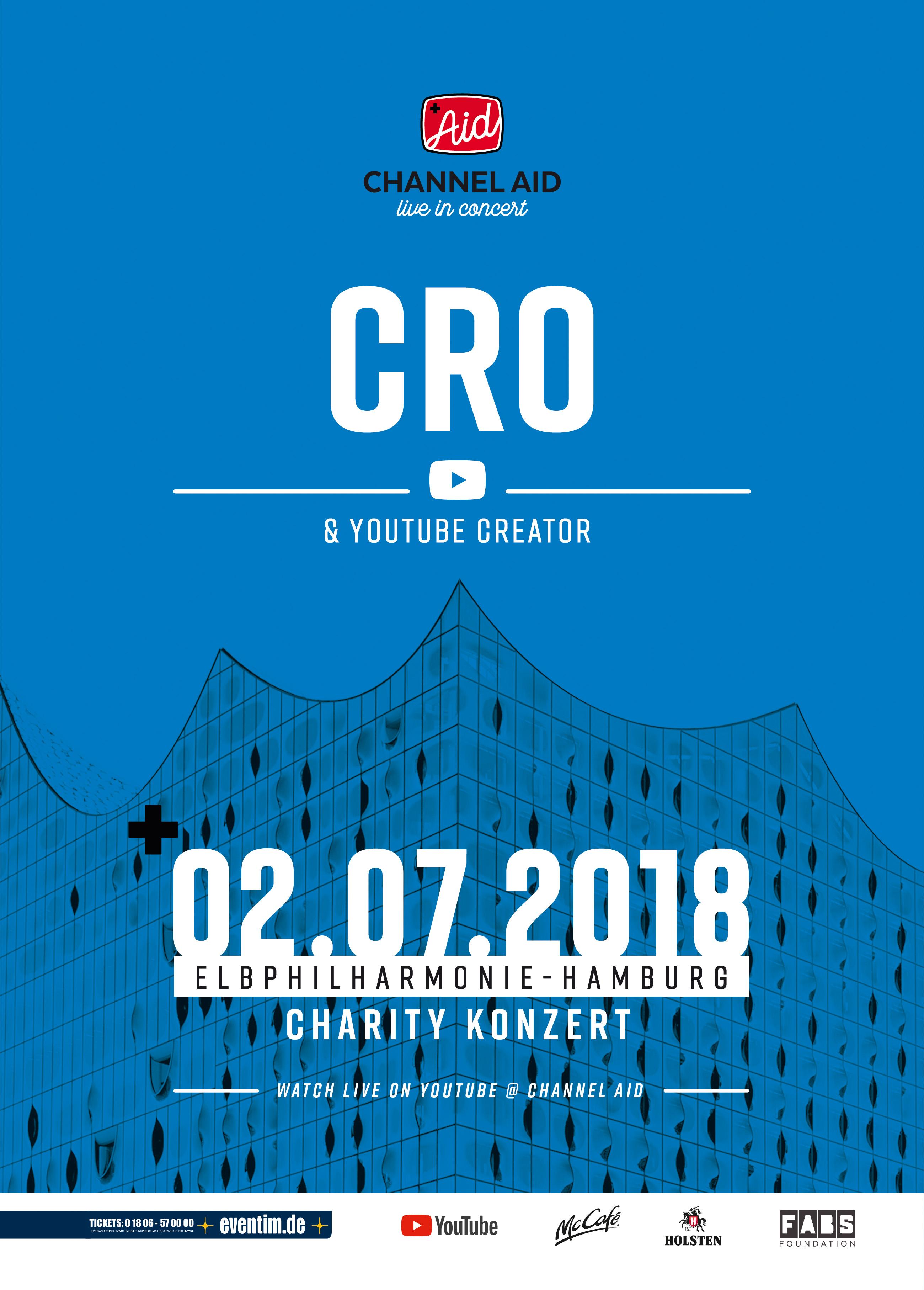 CRO live in Concert : Channel Aid : Elbphilharmonie Hamburg