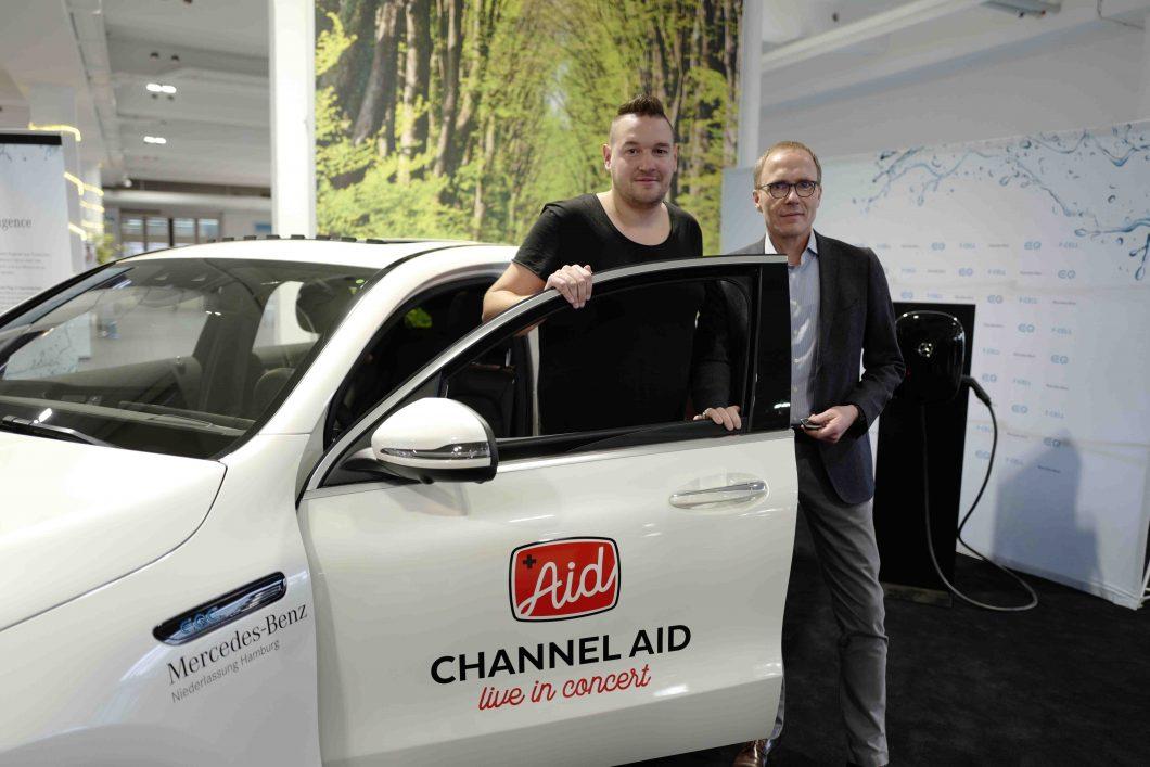 Partnerschaft Mercedes-Benz und Channel Aid
