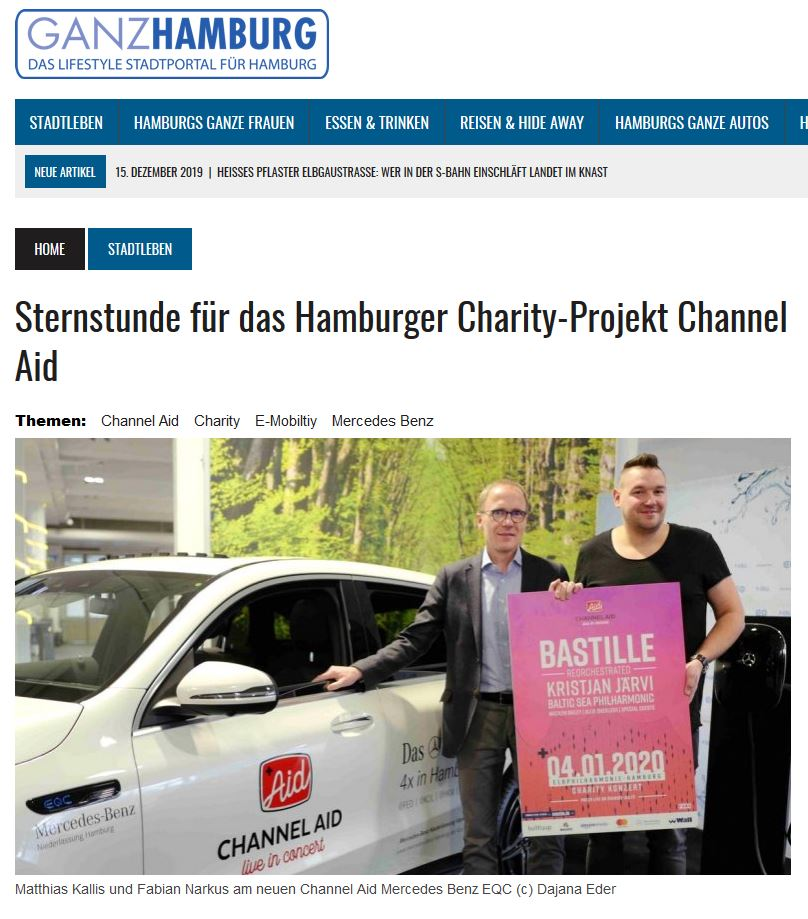 Veröffentlichung Ganz-Hamburg.de