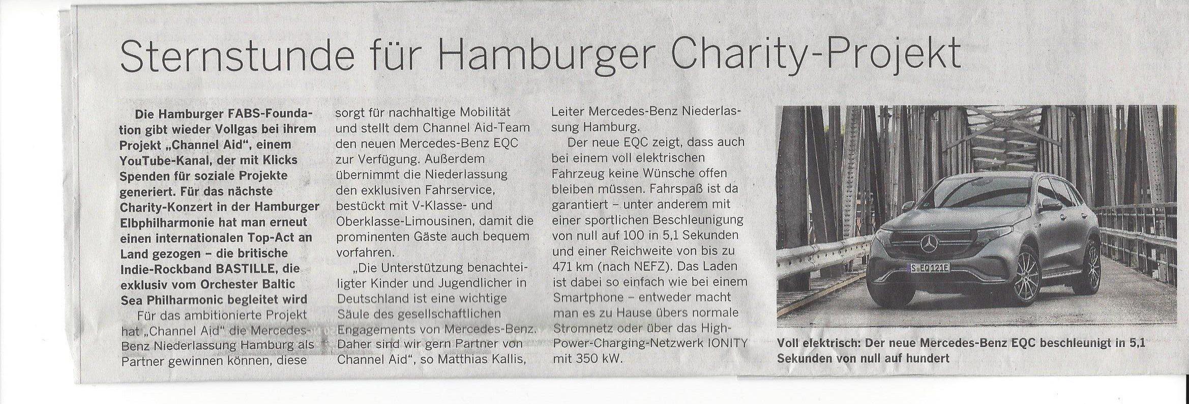 Hamburger Abendblatt Veröffentlichung