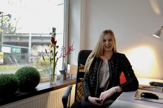 Lena: neue Praktikantin