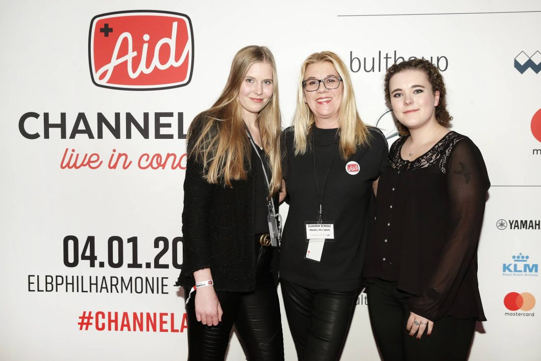 CSPR bei Channel Aid-live in Concert