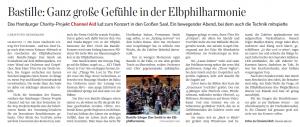 Channel Aid im Hamburger Abendblatt