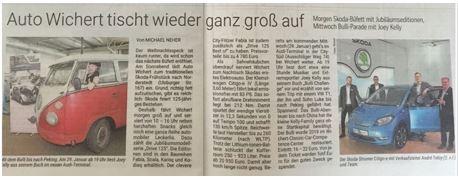 Berichterstattung Hamburger Morgenpost