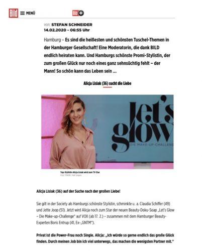 14.02.2020 || Bild.de || Alicja Lisiak